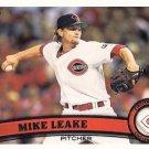 2011 Topps #516A Mike Leake