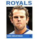 2013 Topps Heritage #194 Mike Moustakas