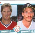 1990 Fleer 644 Tom Drees RC/Dann Howitt RC