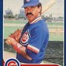 1986 Fleer #372 Dave Lopes