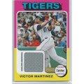 2011 Topps Lineage 1975 Mini Relics #VM Victor Martinez