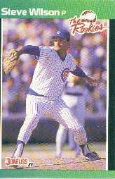 1989 Donruss Rookies #10 Steve Wilson