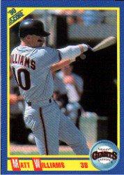 1990 Score 503 Matt Williams UER