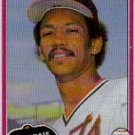1981 Topps Traded #746 Enos Cabell