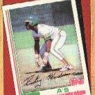 1987 Topps 311 Rickey Henderson/TBC '82