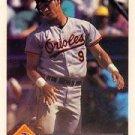 1993 Donruss 89 Brady Anderson
