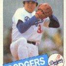 1985 Topps #440 Fernando Valenzuela