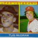 1983 Topps #511 Tug McGraw SV