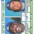 1983 Topps #681 Dodgers Leaders