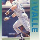 1992 Fleer 295 Dave Valle
