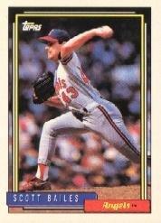 1992 Topps 95 Scott Bailes