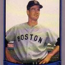 1988 Pacific Legends I #80A Jim Lonborg ERR/(Misspelled Longborg/on card fro