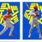 1988 Panini Stickers #235 Ozzie Smith and/Eric Davis