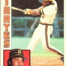 1984 Topps 537 Johnny Ray