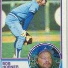 1983 Topps #50 Bob Horner UER
