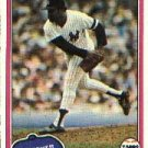 1981 Topps #627 Luis Tiant