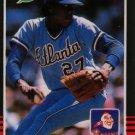 1985 Leaf/Donruss  #55 Pascual Perez