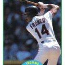 1989 Score #11 Julio Franco