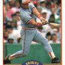 1989 Score #358 Mickey Tettleton