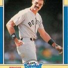 1988 Fleer Baseball MVP's #12 Dwight Evans