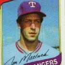 1980 Topps #592 Jon Matlack