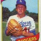 1980 Topps #170 Burt Hooton