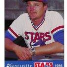 1986 Huntsville Stars Jennings #44 Rick Tronerud