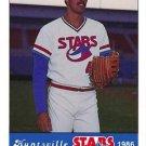 1986 Huntsville Stars Jennings #42 Kirk McDonald