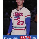 1986 Huntsville Stars Jennings #23 Wally Whitehurst