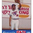 1986 Huntsville Stars Jennings #18 Damon Farmar