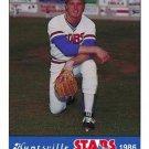 1986 Huntsville Stars Jennings #12 Dave Nix