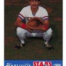 1986 Huntsville Stars Jennings #10  Amin David