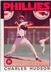 1986 Topps 792 Charles Hudson