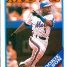1988 Topps 255 Mookie Wilson