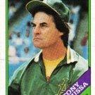 1988 Topps 344 Tony LaRussa MG