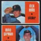 1971 Topps #512 Rookie Stars/Dick Mills RC/Mike Garman RC