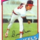 1980 Topps #239 Don Aase