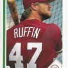 1991 Upper Deck 410 Bruce Ruffin