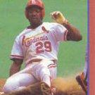 1989 Score Hottest 100 Stars #86 Vince Coleman