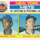 1982 Topps #246 Hubie Brooks/Mike Scott TL