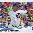 2013 Topps #534 Alberto Cabrera RC