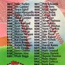 1992 Stadium Club 590 Checklist 501-600