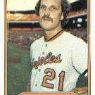 1982 Fleer 166 Dave Ford
