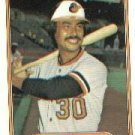 1982 Fleer 170 Dennis Martinez