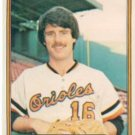 1982 Fleer 172 Scott McGregor