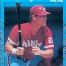 1990 Donruss Best NL #32 Tom Herr