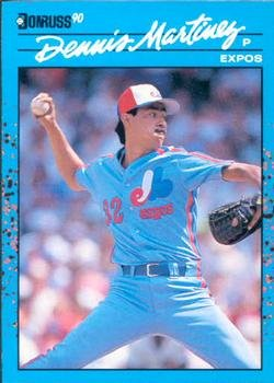 1990 Donruss Best NL #30 Dennis Martinez