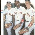 1988 Fleer 630 Mike Greenwell/Ellis Burks/Todd Benzinger