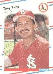 1988 Fleer 45 Tony Pena