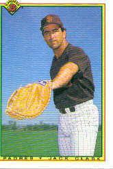 1990 Bowman #214 Jack Clark